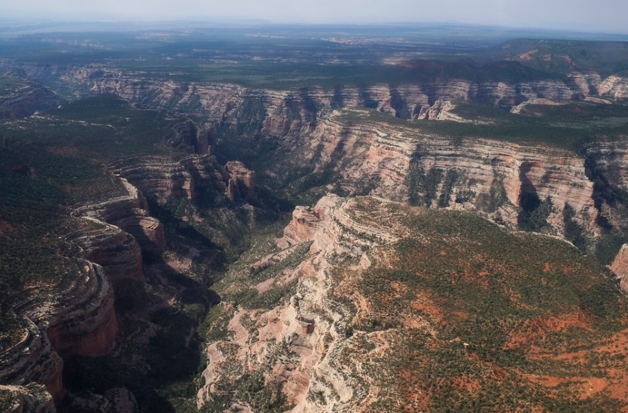 (Francisco Kjolseth | Tribune file photo) Arch Canyon, within Bears Ears National Monument in Utah, is seen May 8, 2017.